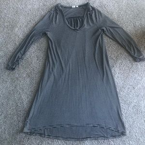 GAP Oversized Striped Dress, size Medium Petite.